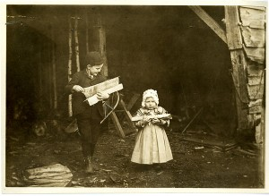 Bringing in wood, Chesterfield, Mass. from the Jones