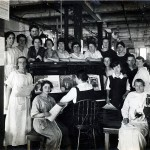 A.E. Little Shoe, Lynn: Stitching room personnel