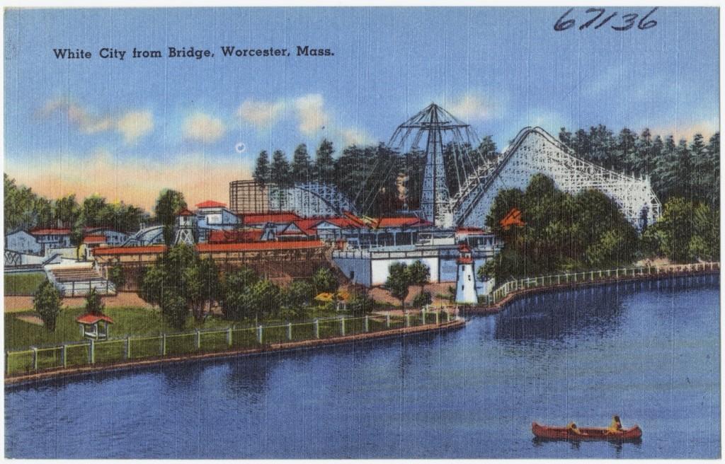 White City from Bridge, Worcester, Mass.