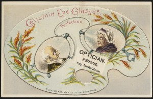 Celluloid eye glasses - perfection