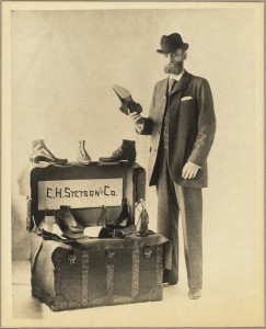 "Mr. E. H. Stetson will call on you,"" ca.1899-1949, from Weymouth Public Libraries, Tufts Library."