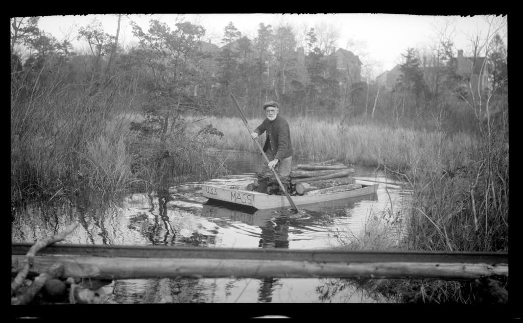 Logging pram