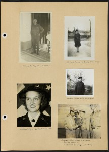 "Page from Westborough World War II memorial scrapbook"" [ca. 1940-1976]. From the Westborough Public Library."