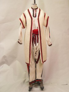 """Arms and the Man overtunic, shirty, and pants."" From Costume Archives of Williams College."