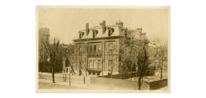 """Massachusetts Normal Art School, Deacon House,"" from the Campus Life collection."
