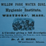 Willow Park  From Westboro Your Town-Your History Collection (Westboro Public Library)