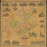 Map of the town of Barre, Worcester County, Mass. from Barre Historical Society Map Collection