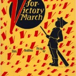 V for victory march, from Lawrence Public Library Sheet Music Collection