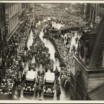 Huge crowds attend Sacco-Vanzetti funeral from the Sacco-Vanzetti Collection, 1915-1977