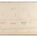 Broadway in Lawrence sewer map