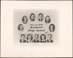 Sandwich High School, class of 1940