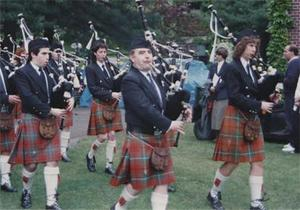 Bagpipe Performance 1988