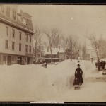 Main St. after the blizzard of 1888