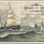 Reward of Merit from the Washington Historical Commission Messenger Collection